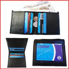 Wallet Genuine Leather Men Purse Bifold Credit Cards ID Money Holder Slim Case