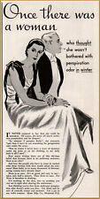 1934  Mum Deodorant Woman Fashion Sanitary Napkins Odor Free Print Ad