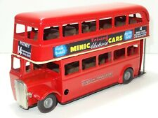 Triang Minic 60M ROUTEMASTER DOUBLE DECKER BUS - (327)