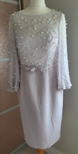 Ivory/taupe Veni Infantino Mother Of The Bride/special Occasion Outfit Size:12