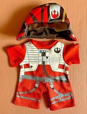 Build-A-Bear --RARE-- Poe Dameron Star Wars Outfit **EXCELLENT CONDITION**