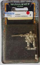 GW Warhammer 40K Space Marines Naaman Veteran Sergeant 4440 '00 - METAL OOP MIB