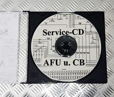 Service CD gesammelte Schaltbilder und Beschreibungen von AFU und CB Funkgeräten