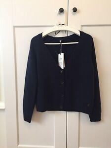 Women's joules cardigan Jumper Navy Blue Size 10. Long Sleeve.  rrp£54.95.