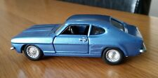 Vintage 70's Corgi Ford Capri Mk1 3 Litre GT Code 3 Resprayed Blue Rare One Off