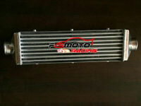 Universal 520x160x110mm Aluminum Turbo Intercooler 3'' in/outlet 76mm Delta Fin