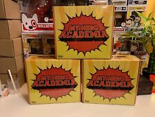 Funko Pop! My Hero Academia Box Gamestop Exclusive! Sealed Endeavor & Baby Deku