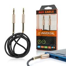 [Lot de 2] Cable Jack Haute Qualité 3,5 - 3,5 mm Male Male 1M pour iPhone Huawei