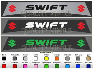 SU32 SUZUKI SWIFT CAR WINDSCREEN SUNSTRIP GRAPHIC DECAL STICKERS