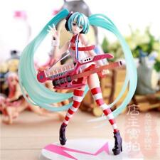 NEW Hatsune Miku Greatest Idol Ver.Electric Guitar Painted Action 1/8 PVC Figure