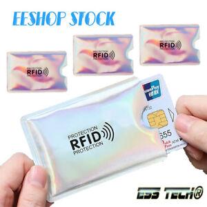 Étui de protection RFID anti paiement carte bleu CB sans contact 3 Pcs Silver