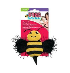 Kong Catnip Better Buzz Buzzy Bee Kitten Cat Toy