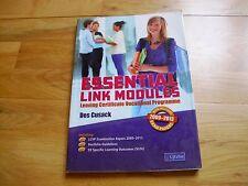 LCVP ESSENTIAL LINK MODULES Business textbook vgc leaving cert  Ireland