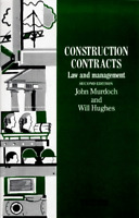 (Good)-Construction Contracts: Law and Management (Paperback)-Hughes, Will, Murd