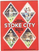 Stoke City v Manchester United 1976/7 (29 Dec)