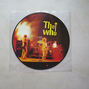 THE WHO - PICTURE DISC LP 33T VINYL - WHO ROCKS HARDER ?