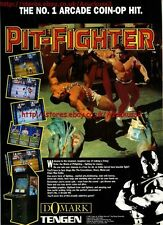 "Pit Fighter ""Domark"" 1991 Magazine Advert #5589"