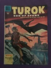 "TUROK SON OF STONE #656 ""THE MYSTERY OF THE MOUNTAIN"" -  (4.0) 1955"