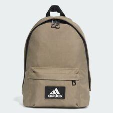 Adidas Classic Must Haves Backpack Sports Bag School Travel LegGreen/Sand FK0522