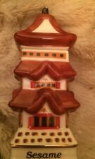 Danbury Mint - Spices of the World - Sesame - Japanese Pagoda