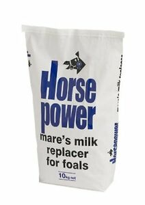 Horsepower Mare's Milk Replacer 10kg The complete first feed for orphan foals