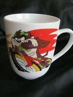 Tasmanian Devil on Motorcycle Coffee Mug Looney Tunes Warner Brothers Gibson