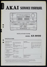 AKAI ax-m400 d'origine Digital HIFI midi system service-manual/Diagram o167