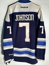 Reebok Premier NHL Jersey Columbus Blue Jackets Jack Johnson Navy Alt sz XL