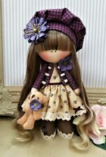 Rag doll handmade in the UK Tilda doll Ooak doll Art doll DARCEY 8 inch tall