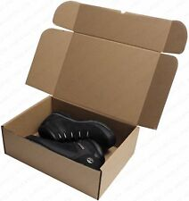"5 x BROWN SHIPPING BOXES 15"" x 11"" x 5"" GIFT PRESENT SIZE 37.5cm x 27.5cm x 12.5"