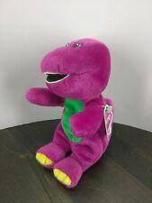 "Barney GUND Plush Purple Dinosaur Stuffed Animal Toy  7"" With Tag"