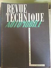 revue technique automobile n37 avril 1949  lancia belna etude volkswagen