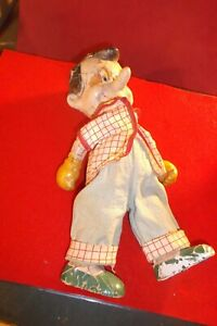 WALT DISNEY PRODUCTION 10/ 10 1/2 INCH CPINOCCHIO WOODEN JOINTED FIGURE
