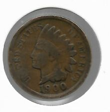 Rare Old Antique 1900 US Indian Head Penny IHP Cent Collectible Collection Coin