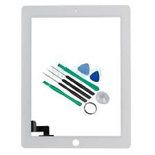 Replacement Touch Screen Digitizer Parts w/Felx for iPad 2 White + Tool Kit