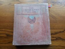 OLD STRAND STAMP ALBUM:   WORLD COLLECTION - 980 USED STAMPS.