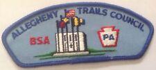 Allegheny Trails Council BSA T5 CSP Plastic Back