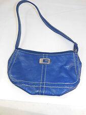 Guess Royal Blue Mini Petite Small Purse handbag Short Shoulder Strap
