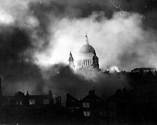 Blitz German Bombing Damage St Paul's Cathedral 8x10 World War II WW2 Photo 605