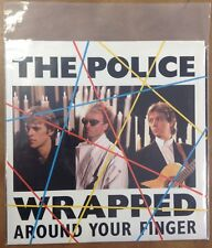 The Police | 45 Record | Clean | Wrapped Around Your Finger, Tea In The Sahara