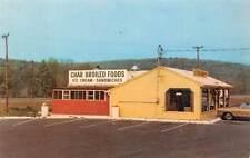 CANTON, CT, CROSSROADS RESTAURANT ADV PC, ICE CREAM SIGN, CARTER PUB c. 1960's