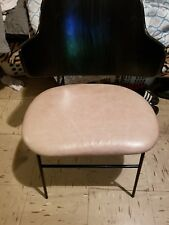 Penguin chair Leather Brand New Black Back.
