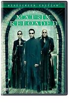 Like New DVD The Matrix Reloaded Keanu Reeves Laurence Fishburne Carrie-Anne Mos