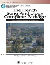 The French Song Anthology Complete Package Low Voice Book and Audio 000116918