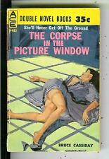 THE CORPSE IN THE PICTURE WINDOW & IF WISHES HEARSES, Ace #D483 gga vintage pb