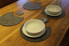 Multi Placemats and Coaster Moon Shape  Set 28 pieces Housewarming Gift