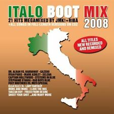 Italo Boot Mix 2008 Various 21 Hits Megamixed by JMK! & Riba 2 Disc New Sealed