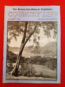 COUNTRY LIFE Magazine : 4th October 1946