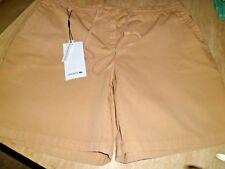 BNWT LACOSTE Tan Shorts UK 18 EUR 46 95 Euro