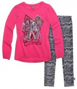 Langarmshirt, Tunica mit Leggins für Mädchen mit süßem Monster High  Motiv
